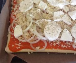 Pizzateig mit Buttermilch (sofort bereit)