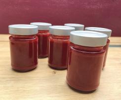Erdbeer - Johannisbeer - Marmelade samtfein