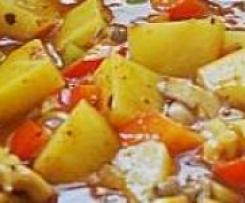Gulasch mit Austernpilzen