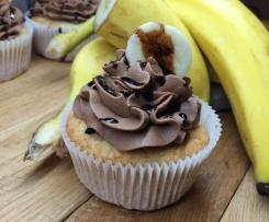 Banana-Split Cupcakes