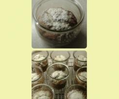 Rumstollen im Glas gebacken