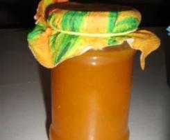 Aprikosenkonfitüre