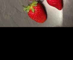 Erdbeermarmelade mit Holunderblütensirup