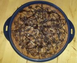 Nuss- Kirsch- Marzipan Kuchen