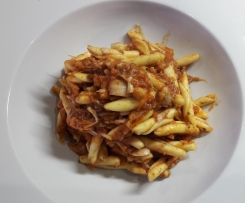 """""""Thunfisch""""-Sauce für Pasta, vegan"""