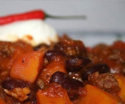 Kürbis Chili con Carne