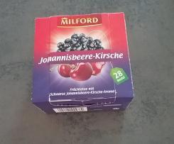 Fruchtiges Eisteekonzentrat - Johannisbeere-Kirsche