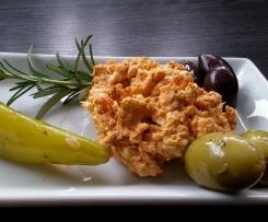 Tomaten Oliven Feta Creme