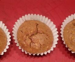 Mandelmuffins ohne Zucker