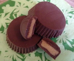 Peanut Butter Cups (wie Reeses)