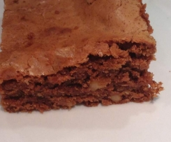 Brownies saftig