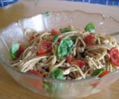 Italienischer Spaghettisalat