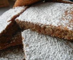 Schneller Schoko-Nuß-Blechkuchen