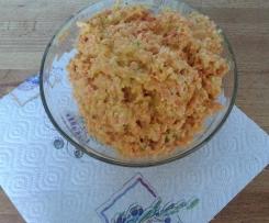 Möhren-Parmesan-Salat