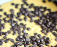 Peanutbutter-Choclate Chip-Streusel Kuchen
