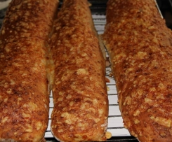 Dinkel- Käse- Baguettes