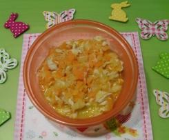Karottenhähnchen (fruchtig)