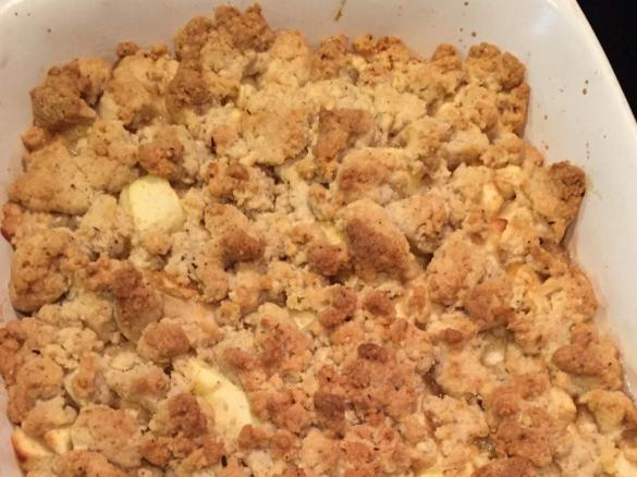 apple crumble mit zimtstreusel von toasty1974 ein thermomix rezept aus der kategorie. Black Bedroom Furniture Sets. Home Design Ideas