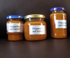 Pizzasoße  auf Vorrat                                                     Rezept des Tages 30.09.2014