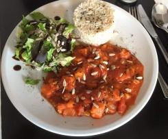 Süßkartoffel-Curry in Kokos-Soße