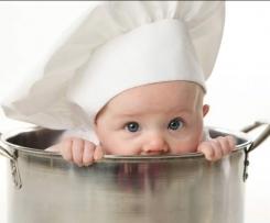 Pastinaken-Süßkartoffel-Baby-Brei auf Vorrat