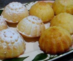 Leckere Zitronen-Orangen-Küchlein     (Variation von Zitronenkuchen (sehr saftig)