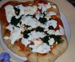 Kleine Pita Pizzen