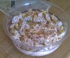 Reis-Mais-Thunfisch- Salat