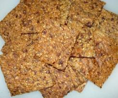 Knusper-Knäcke mit Cranberries