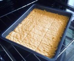 Haferkekse / Shortbread mit Haferflocken
