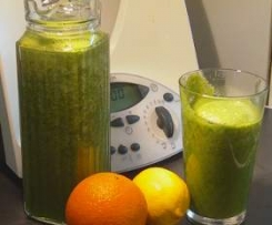Grüner Powerdrink : Green Smoothie