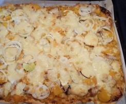 Curryhuhn Pizza