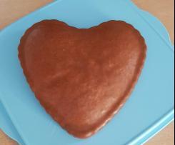 Pekannuss-Kuchen mit Amaretto-Zimt-Glasur (Eiweißverwertung)