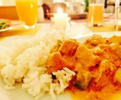Fitness-Hähnchen-Curry Masala