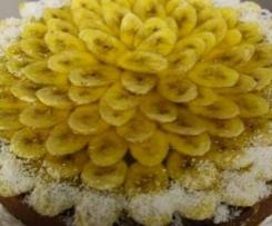 Karibische Bananentorte