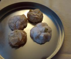 Paste di Mandorle (sizilianisches Gebäck)