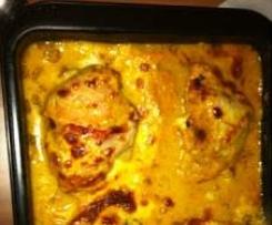 Mozzarellaschnitzel in Tomaten-Zucchinisoße ♥ RdT 23.08.13 ♥