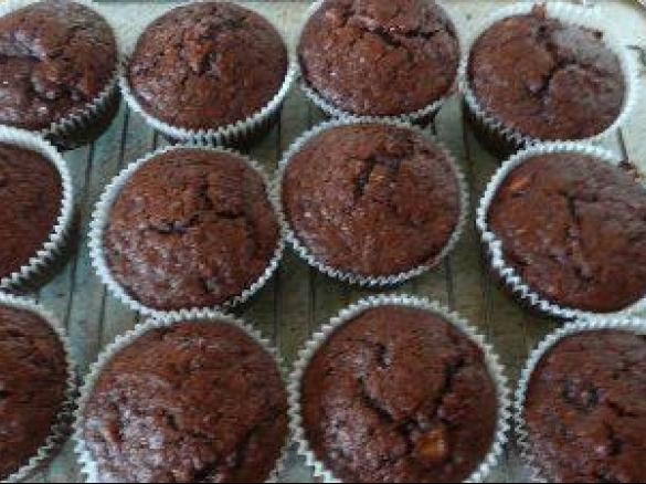 schoko bananen muffins von franzi und alex ein thermomix rezept aus der kategorie backen s. Black Bedroom Furniture Sets. Home Design Ideas
