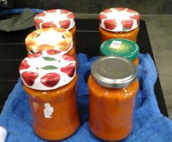 Variation Tomatensauce