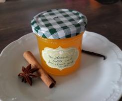 Mandarinen-Gelee mit Anis, Zimt und Vanille