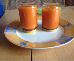 Karotten-Tomaten-Kartoffelbrei