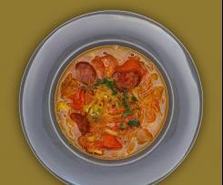 Sauerkraut-Eintopf (vegan)