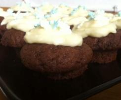 Schoko-Minz-Mini-Cupcakes