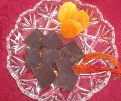 Chili Schokolade mit Aprikosen