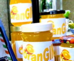 OranGIN Orangenmarmelade mit Tonic und Gin