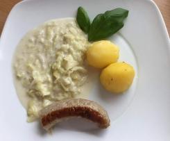 Spitzkohl mit Kartoffeln