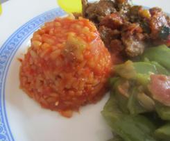 Kritharaki mit Tomate