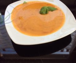 Gemüse-Senf-Cremesuppe