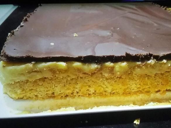 Schoko Vanillepudding Kuchen Wie Vom Backer Von Sunshine Thermi Ein