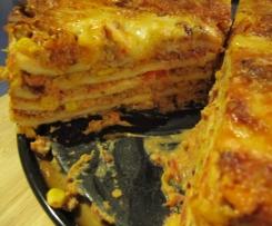 Mexikanische Lasagne
